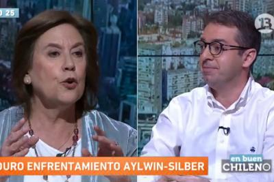 VIDEOS | DC en el suelo: Aylwin y Silber protagonizan el round político más ácido de la TV