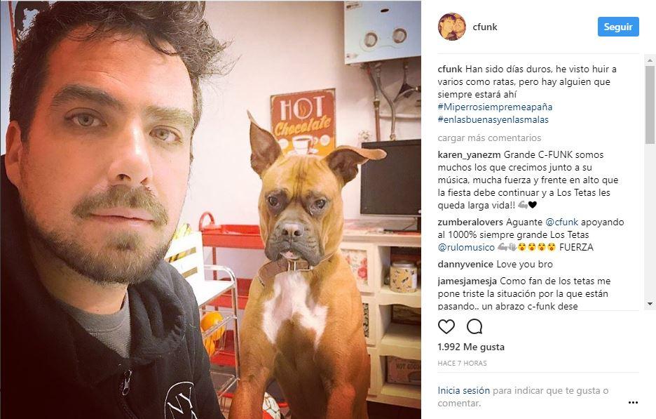 Guitarrista de Javiera Mena recupera instrumento robado y comprado por Camilo Castaldi