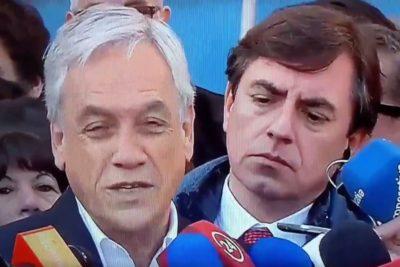 VIDEO | El rostro de Claudio Fariña cuando Piñera hablaba de delincuencia te hará el día