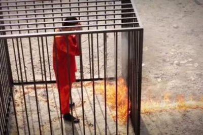 Estado Islámico quema vivas a 12 personas encerradas en jaulas