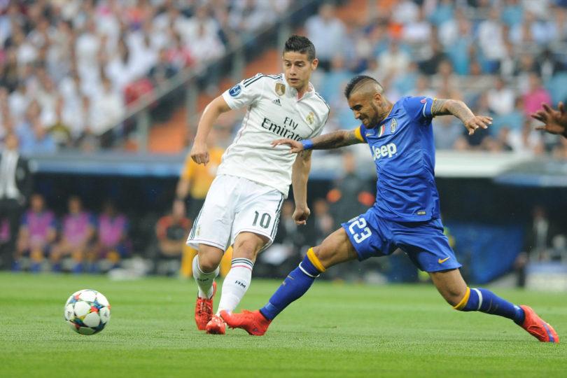 Cosas que pasan cuando Vidal está de vacaciones: Bayern contrata a James Rodríguez