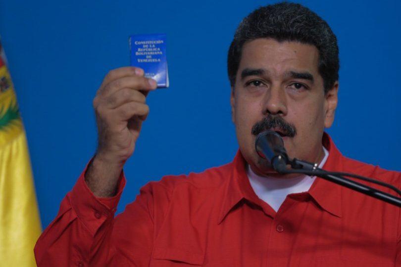 Venezuela: Nicolás Maduro fue el primero en participar de las votaciones por la Asamblea Constituyente