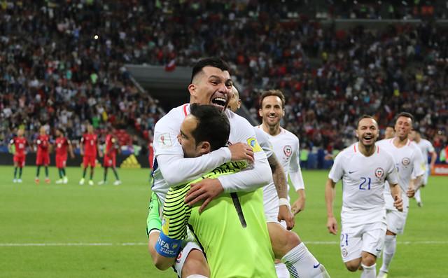 """""""Siempre unidos"""": la dedicatoria de Gary Medel a la Roja de cara a la final contra Alemania"""