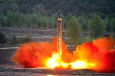 La Moneda expresa su condena a lanzamiento de misil balístico por parte de Corea del Norte