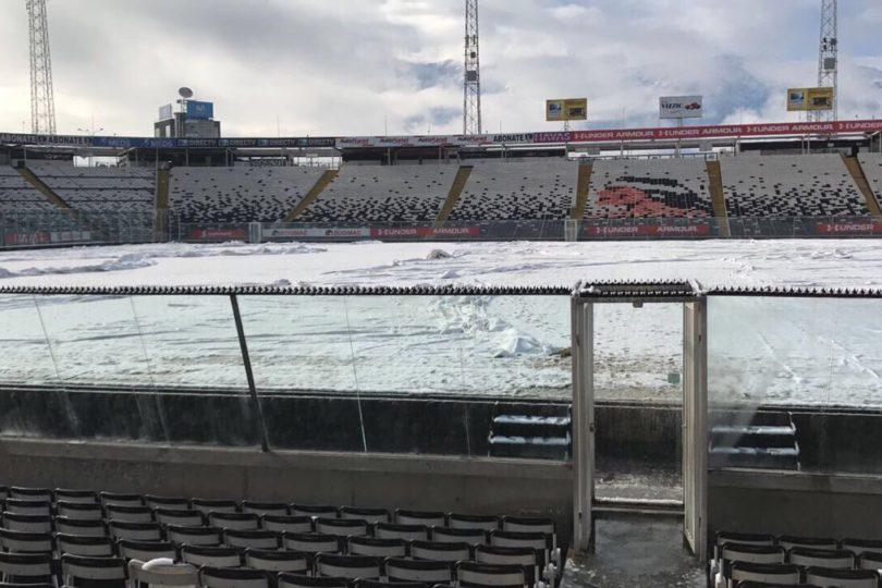 ANFP anuncia la suspensión de varios partidos producto de la caída de nieve