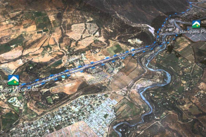 La inestabilidad de las terrazas que sostendrán el proyecto de Aguas Andinas en Pirque