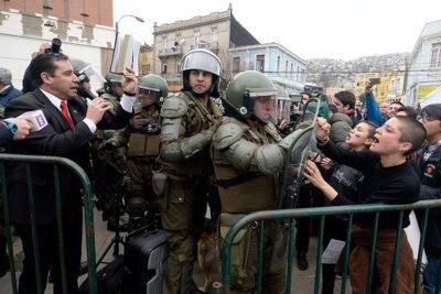 VIDEO l El momento exacto en que el Pastor Soto es detenido en Valparaíso