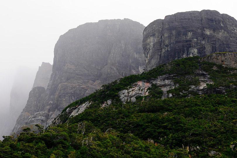 Chile país de montañas