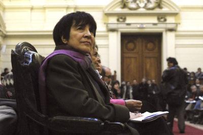 """Carmen Hertz: """"El Frente Amplio no es depositario del mundo social, no nos pasemos películas"""""""