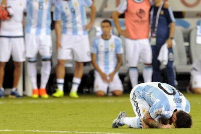 Desclasifican dramática escena que protagonizó Lio Messi tras perder la Copa América Centenario ante Chile