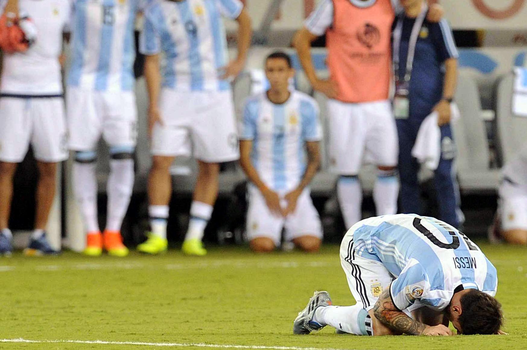 """""""Desclasifican dramática escena que protagonizó Lio Messi tras perder la Copa América Centenario ante Chile"""""""