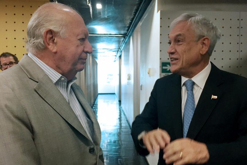 Ricardo Lagos y Sebastián Piñera se enfrascan en inédito e impensado round a través de Twitter