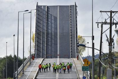 Fiscalía autoriza al Ministerio de Obras Públicas a desmantelar el puente Cau Cau