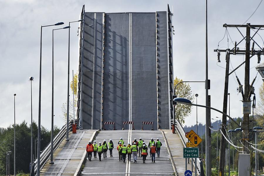 Fiscalía autoriza al MOP a desmantelar el puente Cau Cau
