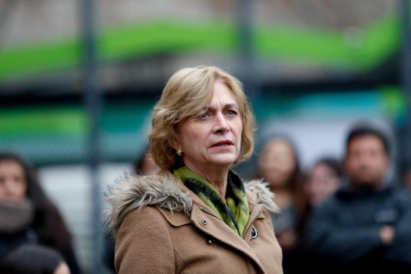 """Evelyn Matthei no quiere el teleférico entre Providencia y Huechuraba: """"Nos vamos a oponer con todos los medios"""""""
