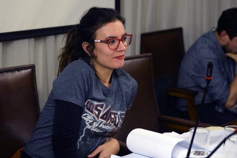 Camila Vallejo se integra al equipo educacional del comando de Alejandro Guillier