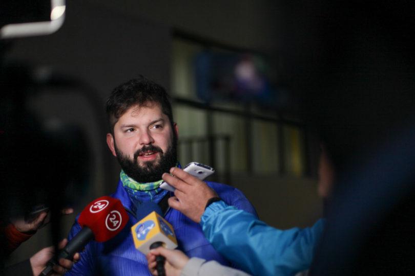 """Gabriel Boric: """"Hemos cometido muchos errores en esta crisis"""""""