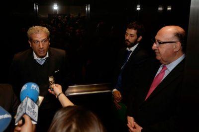 FOTO  Así estaba la Cámara de Diputados mientras Goic le bajaba el pulgar a Ricardo Rincón
