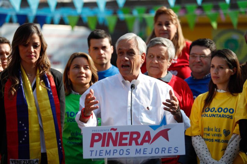 """Piñera: """"No sé quién va a estar en segunda vuelta y si es que va a haber segunda vuelta"""""""