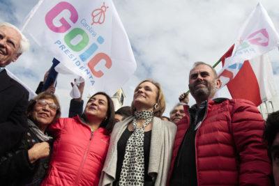 Encuesta Cadem: Carolina Goic registra su primera alza por efecto Rincón