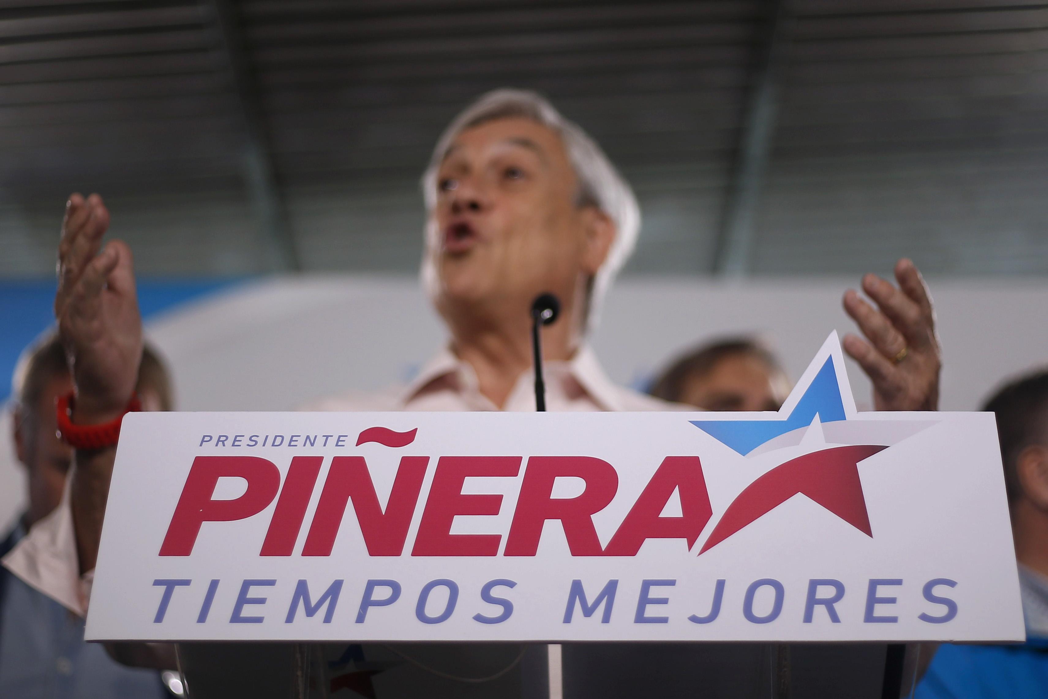 """""""Piñera hizo llamado a sus partidos por cupos parlamentarios:"""