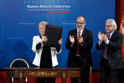 VIDEO | Bachelet ordena crear propuesta para modificar el sistema de pensiones de Fuerzas Armadas
