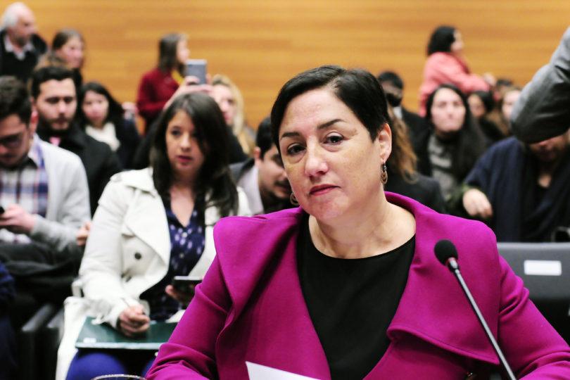 """Beatriz Sánchez recuerda que es la """"máxima líder"""" y exige al Frente Amplio pensar en """"proyectos colectivos"""""""