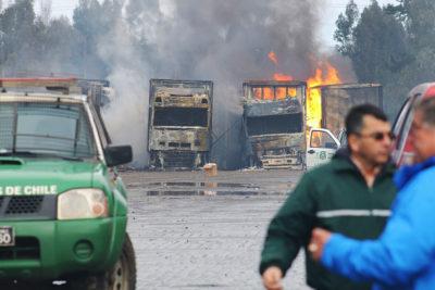 Fiscalía vincula último ataque incendiario en La Araucanía con el caso Luchsinger