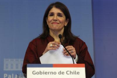"""Gobierno aplaude aumento de mujeres candidatas: """"Ha sido un esfuerzo enorme para los partidos"""""""