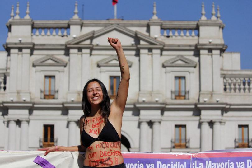 FOTOS l La tensa espera y la euforia tras aprobación del aborto en 3 causales