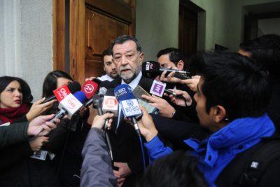 """Aleuy por quema de 29 camiones: """"La ley que aplicaremos dependerá dé antecedentes que entregue fiscal"""""""