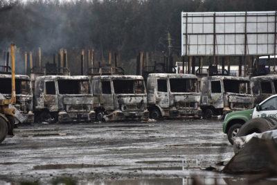 """Camioneros convocan a reunión """"urgente"""" para este lunes por ataques incendiarios"""