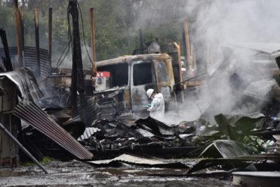 """Empresa afectada por atentado le responde a Abbott: """"Mantener la seguridad es tarea del Estado"""""""