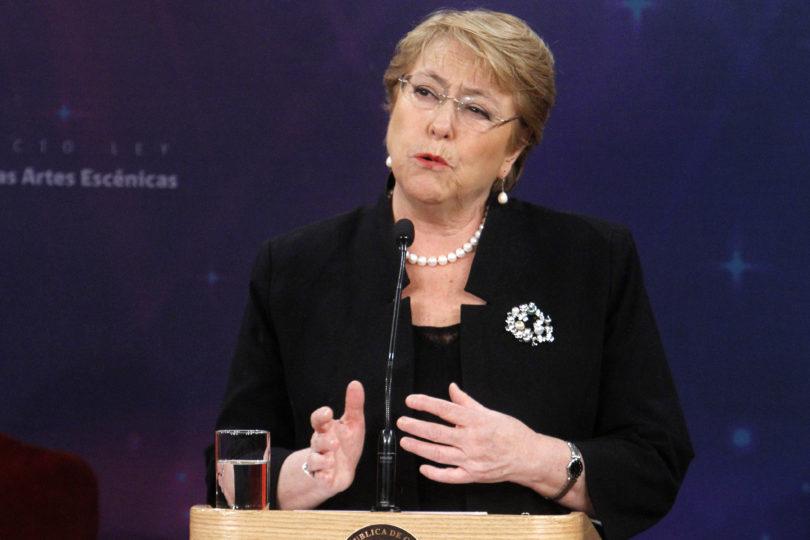 """Sin filtro: Bachelet envió mensaje a quienes la critican por el """"crecimiento económico"""""""