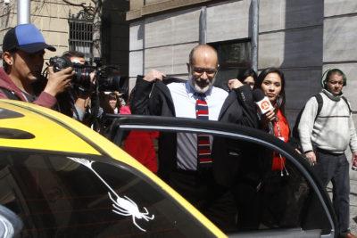 Los últimos minutos de Rodrigo Valdés en La Moneda