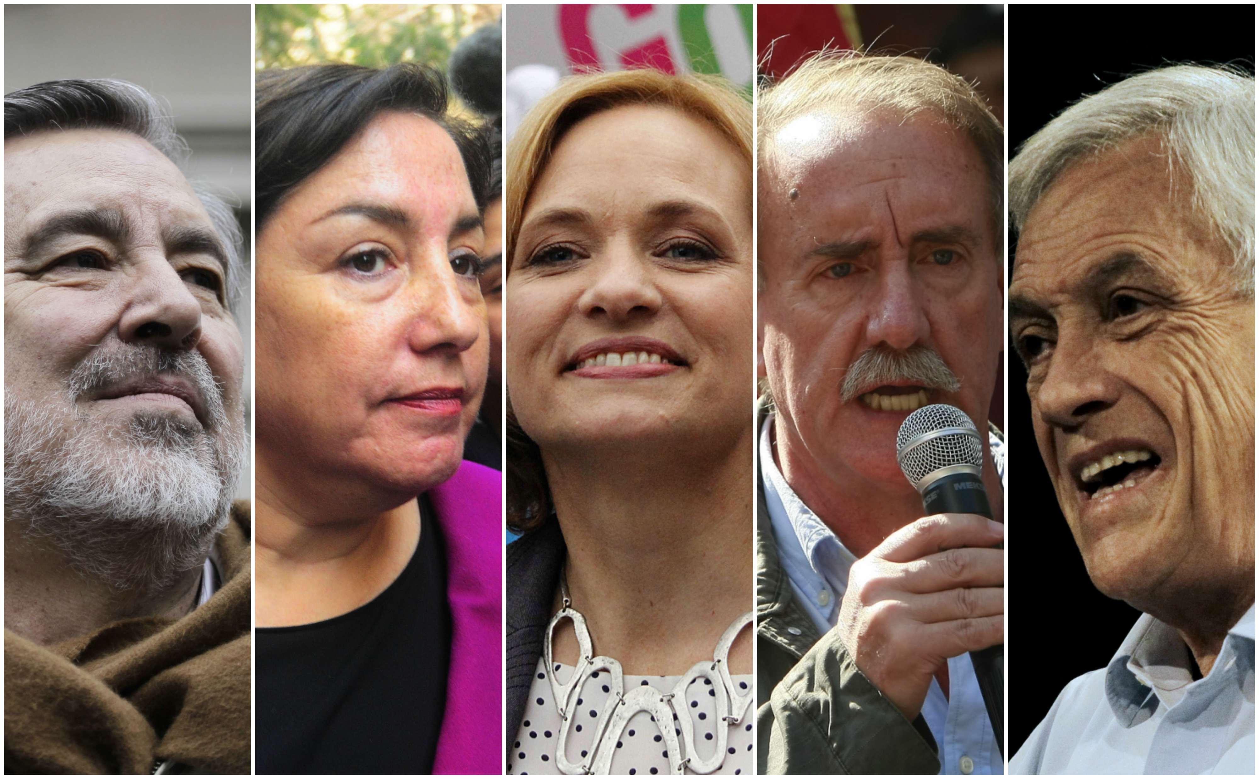 Presidenciales 2017: estos son los ocho candidatos oficiales que competirán en noviembre
