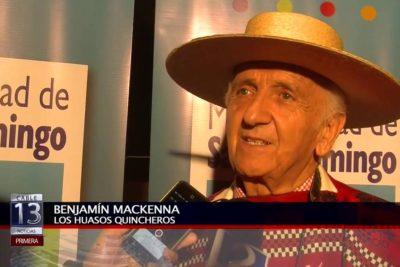 """""""Víctor Jara era un cantante regular"""" y otras frases de Benjamín Mackenna, líder de Los Huasos Quincheros"""