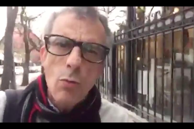 """""""¡Qué hacen con testículos hablando de embarazo!"""": el video que nadie esperaba de Pablo Schwarz a Lily Pérez"""