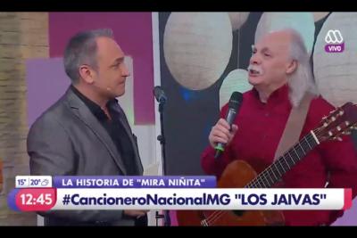 VIDEO |Lucho Jara vivió el momento más incómodo en el matinal de Mega gentileza de Los Jaivas