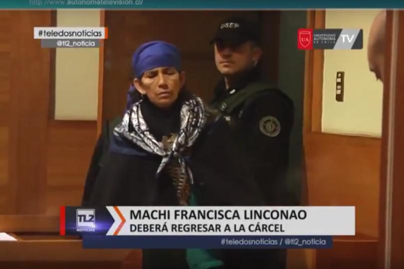 Machi Francisca Linconao reiteró su inocencia en juicio oral por caso Luchsinger