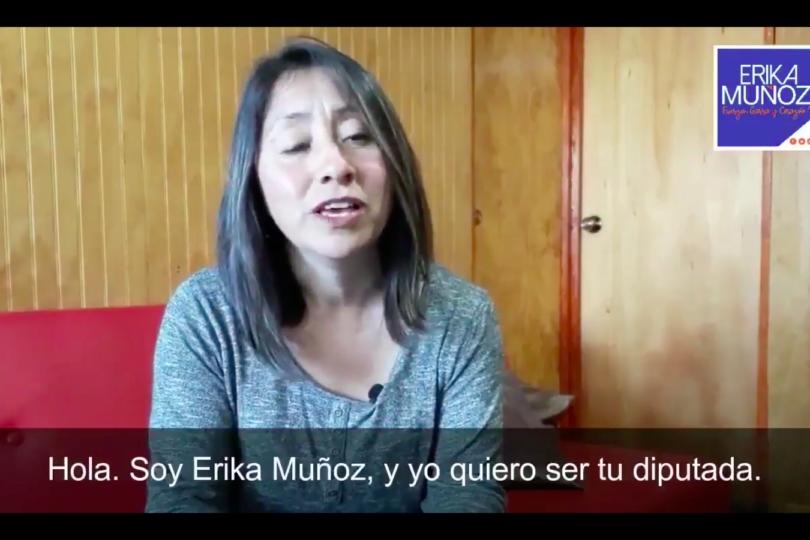 """VIDEO l Suspenso electoral: Erika Muñoz publica autobiografía tipo """"Pasiones"""" con sorpresivo final"""