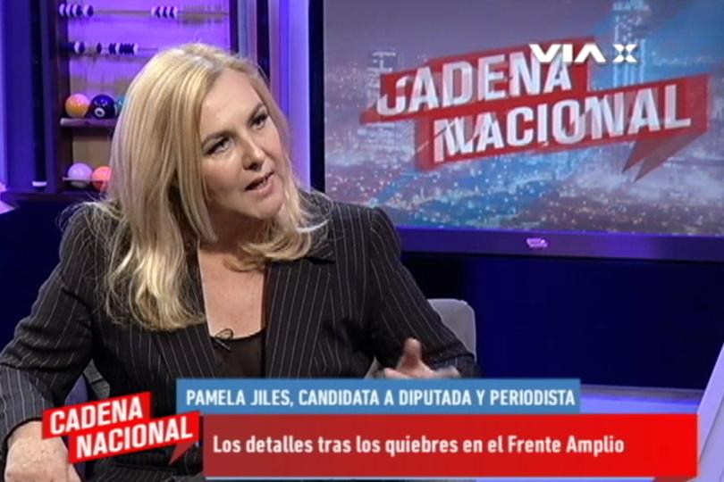 VIDEO | Incendio a la vista: entrevista de Pamela Jiles tiene caminando por las paredes al Frente Amplio