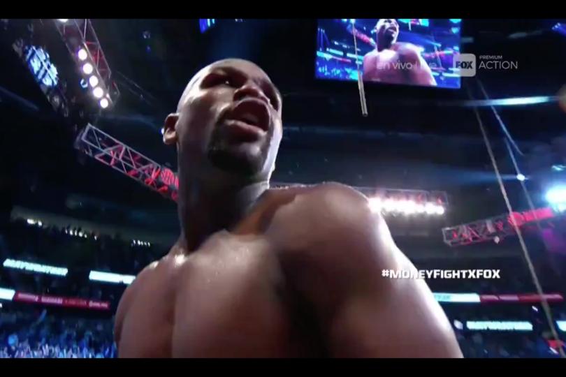 """VIDEO  Así fue el K.O. de Mayweather a McGregor en la """"pelea del milenio"""""""
