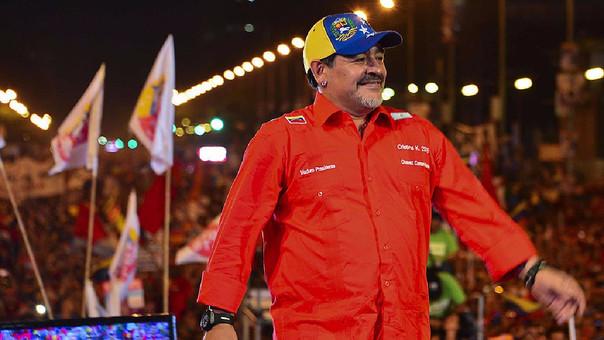 """Maradona responde a Henrique Capriles: """"La diferencia entre vos y yo es que no me vendí"""""""