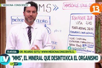 """VIDEO   """"La mala onda se está alquimizando"""" y otros descargos del doctor Ricardo Soto por las casi 200 denuncias en el CNTV"""