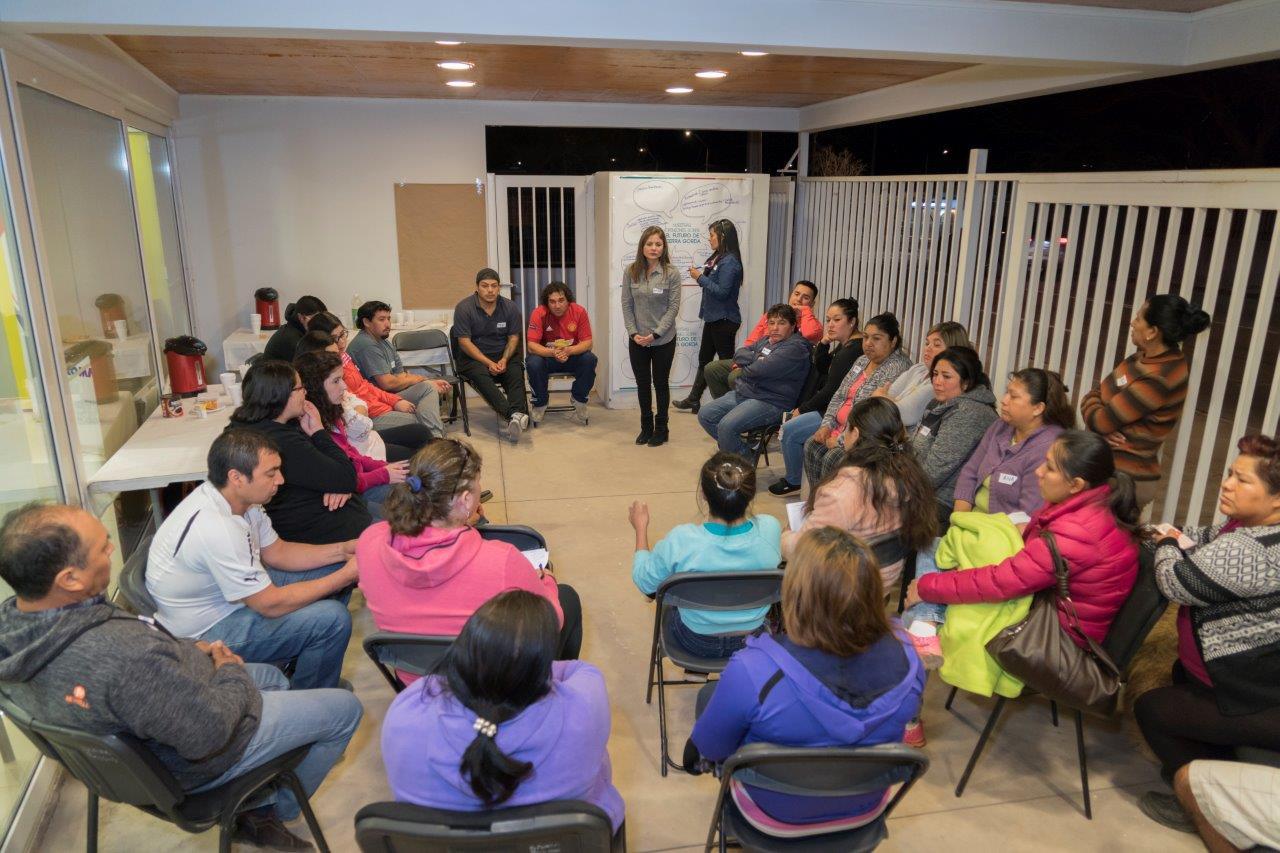 Vecinos de Sierra Gorda participaron en primera asamblea para definir proyectos de desarrollo local