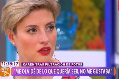 Las confesiones de Karen Paola que relegaron al matinal de Mega al último lugar por varios minutos