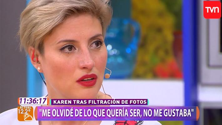 """""""Las confesiones de Karen Paola que relegaron al matinal de Mega al último lugar por varios minutos"""""""
