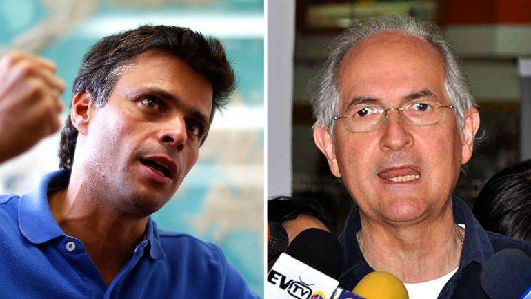 Venezuela explica por qué Leopoldo López y Antonio Ledezma regresaron a la cárcel