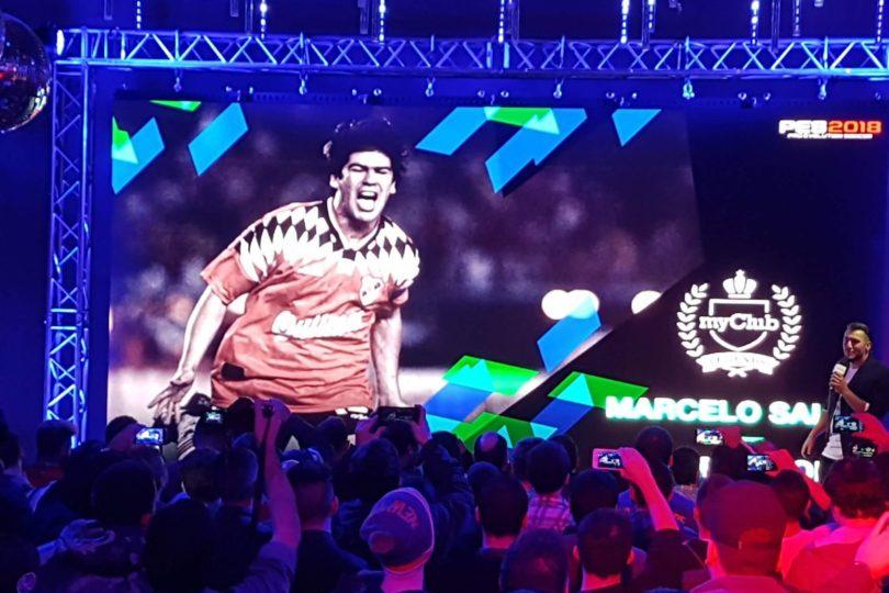 Marcelo Salas será una Leyenda en el próximo Pro Evolution Soccer 2018
